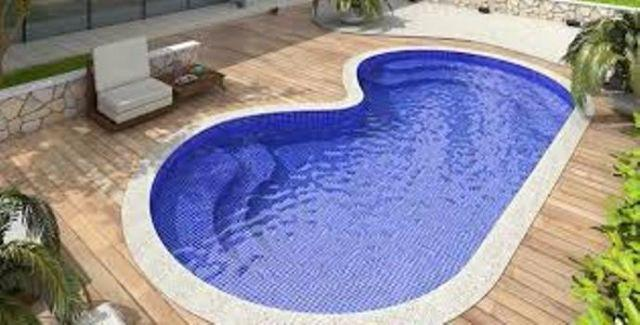 Piscina ideal para vc 5x3 por r materiais de for Piscina desmontable 5x3