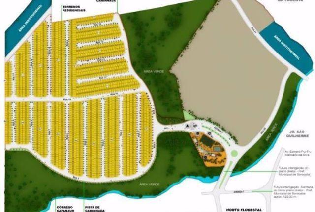 Terreno condomínio fechado Horto Florestal Villágio fase 5 do Horto R 3.500,00 de entrada