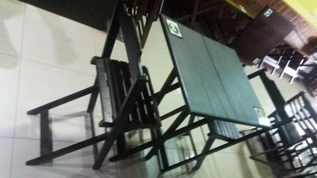 Mesas com cadeiras - Para restaurante, bar, lanchonete