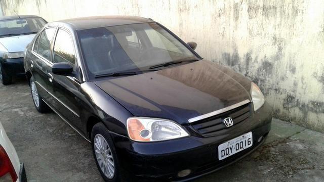 Honda Civic Sedan /02 Automático, Completão, Só R$11.700,00