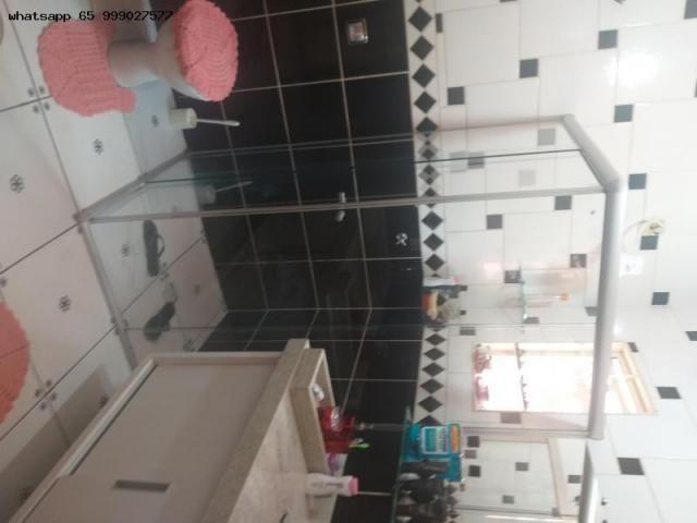 Casa para Venda em Várzea Grande, Ouro Verde, 3 dormitórios, 1 suíte, 3 banheiros, 4 vagas - Foto 8