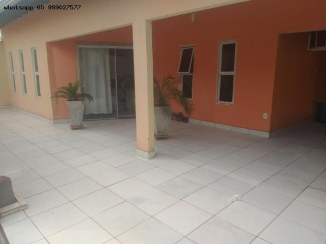 Casa para Venda em Várzea Grande, Ouro Verde, 3 dormitórios, 1 suíte, 3 banheiros, 4 vagas - Foto 4