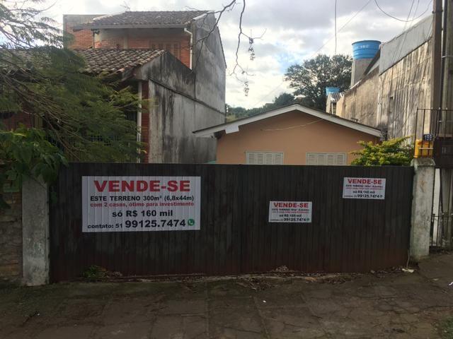 Vendo terreno 6.80 x 44 c/02 casa na bom Jesus próximo à avenida Protásio Alves - Foto 7