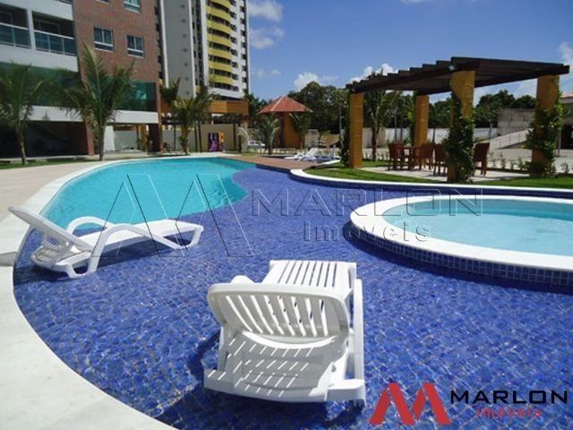 Apartamento Paradise Village/Capim Macio, com 2/4 sendo 1 suíte e 55m² - Foto 4