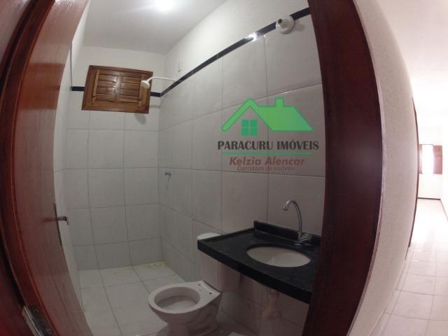 Ampla casa nova de três quartos financiada em Paracuru - Foto 8