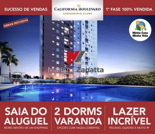Califórnia Boulevard - Apartamento em Lançamentos no bairro Mollon - Santa Bárba... - Foto 10