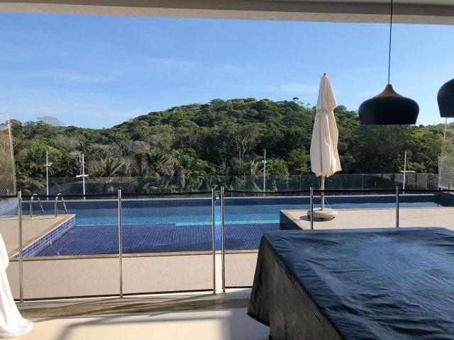 Casa Alphaville II Triplex 500m² 4 suítes piscina com Borda Decorada Alto luxo - Foto 6