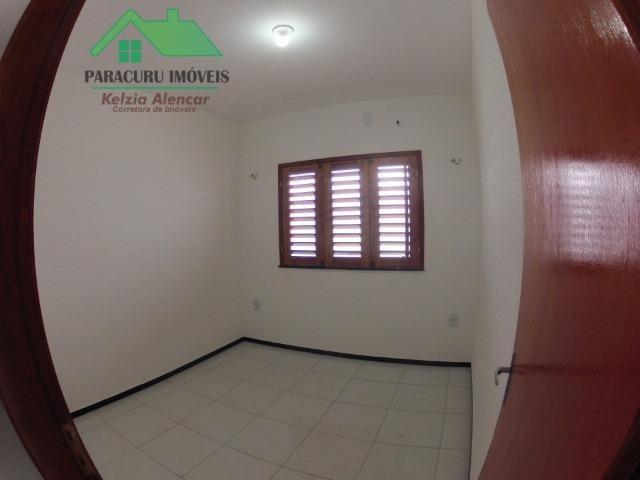 Ampla casa nova de três quartos financiada em Paracuru - Foto 9