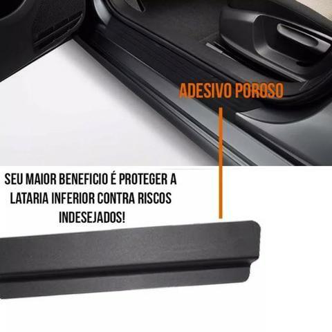 Kit 8 Peças Adesivo Soleira - Emblematech Para Todos os Modelos de Carro - Foto 2