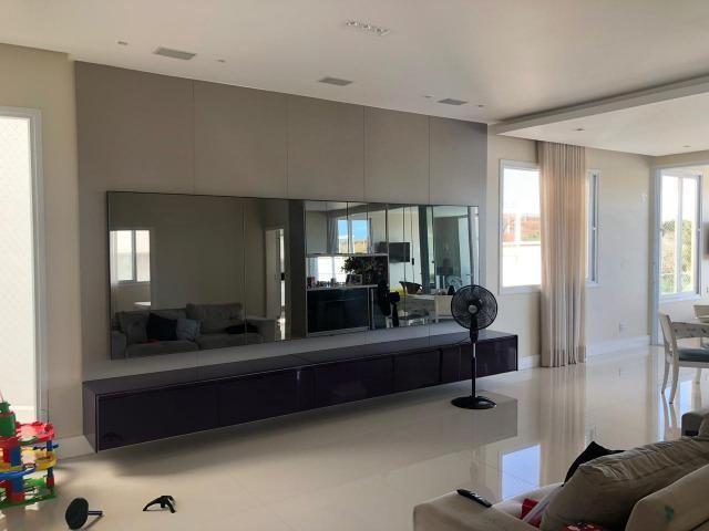 Casa Alphaville II Triplex 500m² 4 suítes piscina com Borda Decorada Alto luxo - Foto 2