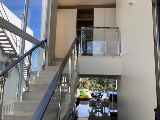 Casa Alphaville II Triplex 500m² 4 suítes piscina com Borda Decorada Alto luxo - Foto 20