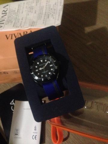 Barbada Relógio Nautica novo
