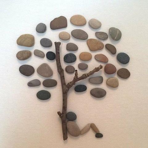Arte em pedra - Foto 4