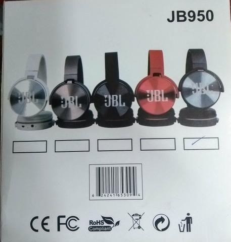 Fone bluetooth sem fio jbl rádio fm mp3 - Foto 4