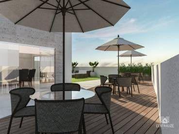 Apartamento à venda com 2 dormitórios em Centro, Ponta grossa cod:440