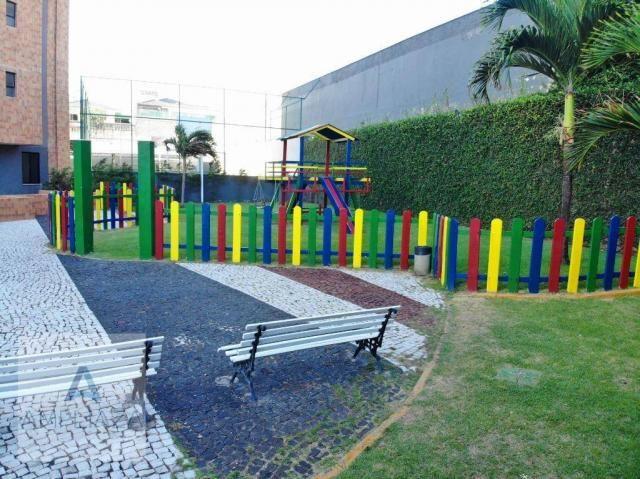 Apartamento com 3 dormitórios à venda, 128 m² por r$ 480.000 - de lourdes - fortaleza/ce - Foto 15