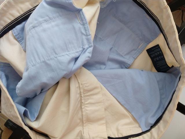 Calça masculina Tommy Hilfiger 54 cor clara - Foto 2