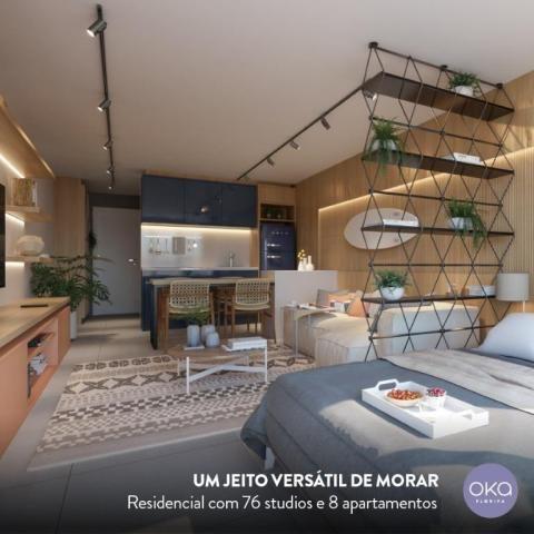 Studio com 1 dormitório à venda, 38 m² - campeche - florianópolis/sc - Foto 7
