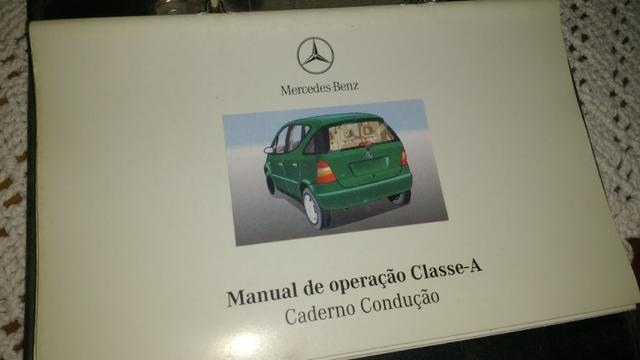 Manual do proprietário Classe A Mercedes Benz W168 - Foto 4