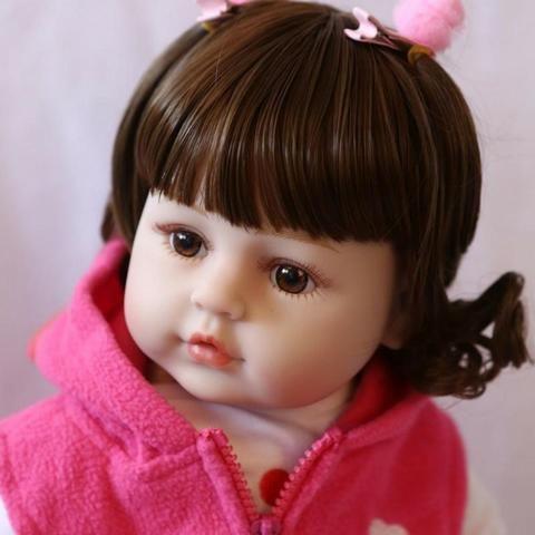 Boneca Bebê Reborn 48cm com girafinha - Foto 6