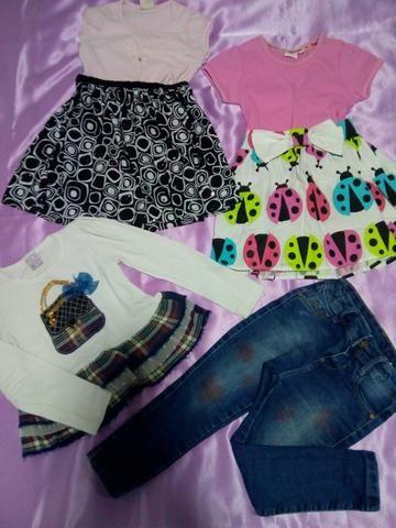 Lotinho de roupa menina 2/3 anos - Foto 5