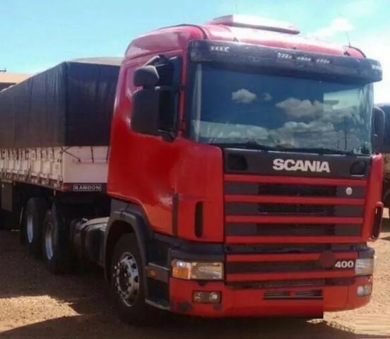 Scania 124 400 ano 2006 com bitrem randon ano 2011(oportunidade para primeiro caminhão) - Foto 3