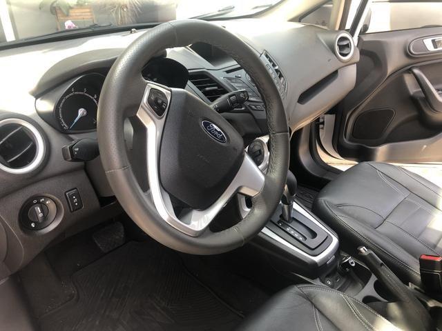 New Fiesta Sedan Automático 1.6 Impecável - Foto 7