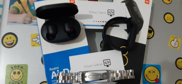 [Combo] Xiaomi Mi Band 3 Global + Redmi Airdots - Foto 2