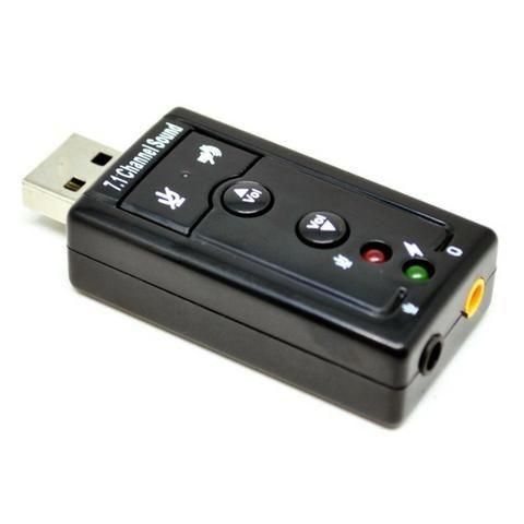 Adaptador Sound Card USB 7.1