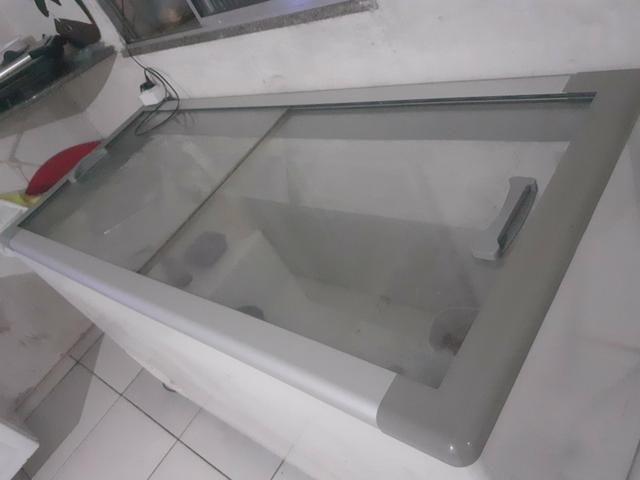 Frezeer Fricon Tampa de vidro - Foto 2