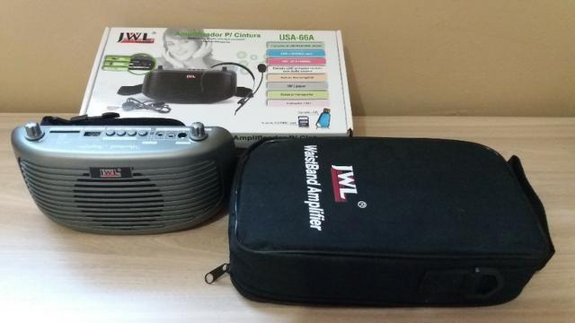 Kit professor/amplificador de cintura JWL (o amigo da sua voz!) - Foto 4