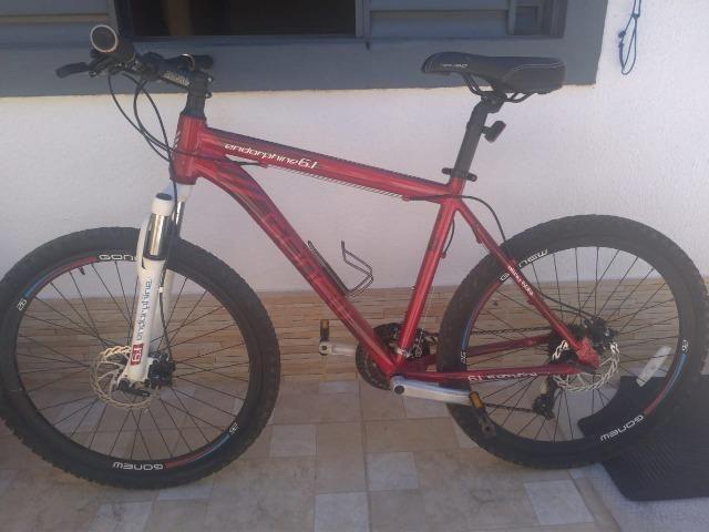 Bicicleta Gonew Endorphine 6.1 Shimano Alumínio- Aro 26 - 21 - Foto 3