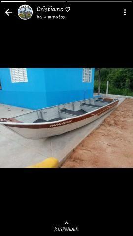 Vendo barco em perfeito estado de conservação - Foto 2
