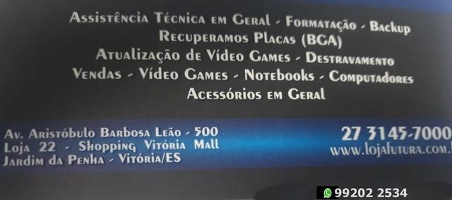 Consertamos macbook-notebook-ultrabook-netbook-pc-desktop Loja fisica - Foto 5