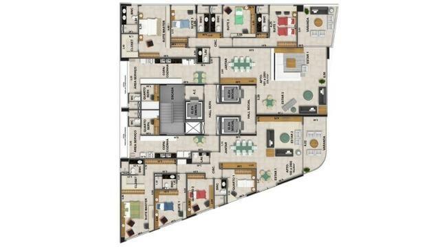Apartamento no Abel Pereira. 3 suítes na melhor localização do Tirol - Foto 10