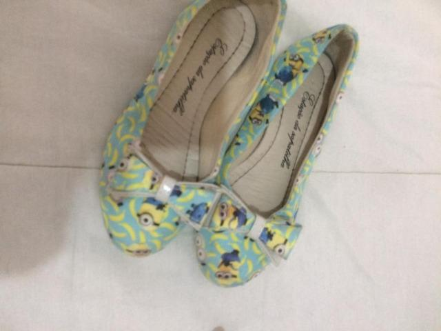 Sapatos femininos infantis