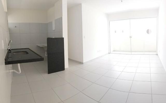 Apartamento 2/4 em Parnamirim Centro- Novo - Foto 3