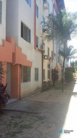Apartamento com 2 dormitórios à venda, 60 m² por R$ 100.000 - Jóquei Clube - Fortaleza/CE