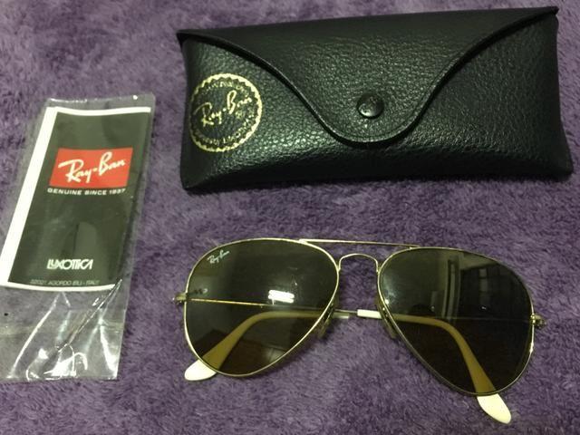 Óculos rayban dourado - Bijouterias, relógios e acessórios - Barro ... d4759ac57d
