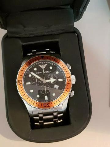 22cd299db81 Relógio Emporio Armani - AR 0552 - Bijouterias