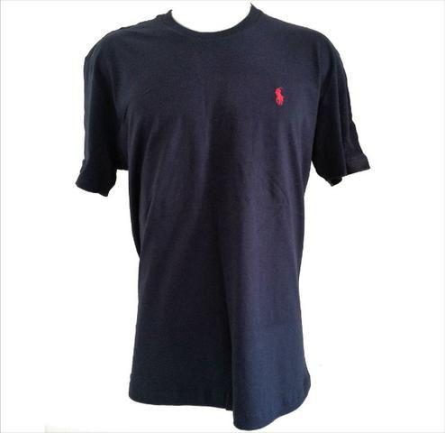 bdcf5b49c7 Camisa Camiseta Ralph Lauren Polo Original Masculina Lisa Vários Tamanhos