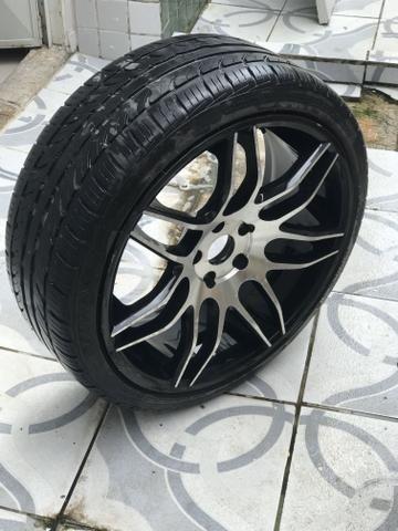 Rodas 20 com pneus - Foto 6