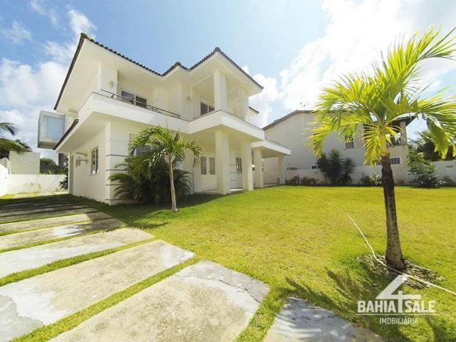 Casa com 4 dormitórios à venda por R$ 1.450.000 - Vila de Abrantes - Camaçari/BA