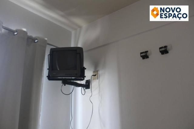 Apartamento com 1 dormitório para alugar, 40 m² por R$ 600/mês - Centro - Campos dos Goyta - Foto 19