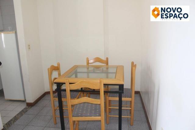 Apartamento com 1 dormitório para alugar, 40 m² por R$ 600/mês - Centro - Campos dos Goyta - Foto 4