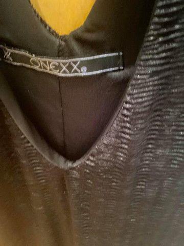 Vestido coquetel novo preto M - Foto 3