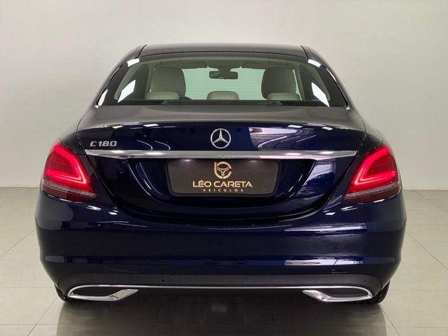 Mercedes c-180 2020 c/500km. igual a zerokm. léo careta veículos - Foto 6