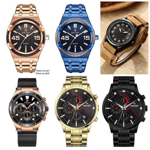 Relógios masculinos originais exclusivos - Foto 6
