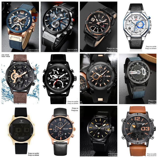 Relógios masculinos Importados originais exclusivos - Foto 4