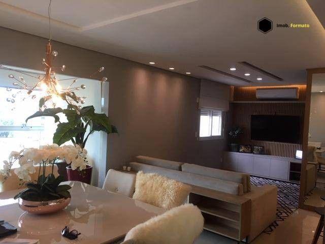 Apartamento Mobiliado com 3 suítes à venda, 142 m² por R$ 1.600.000 - Royal Park - Campo G - Foto 5